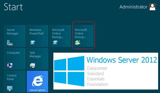 Windows Server 2012 chỉ gồm 4 phiên bản