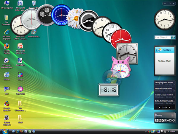 Microsoft vá lỗi Gadget trên Windows 7 và Vista