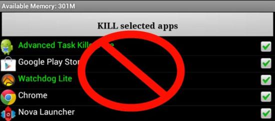 Quản lí tác vụ trên Android dễ dàng không cần Task Killer