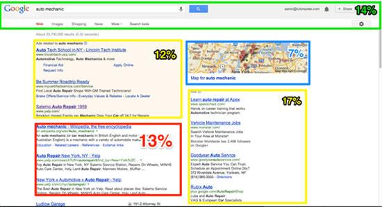 Trang tìm kiếm Google tràn ngập quảng cáo