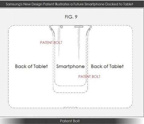 Samsung nghiên cứu thiết bị lai giống Asus Padfone