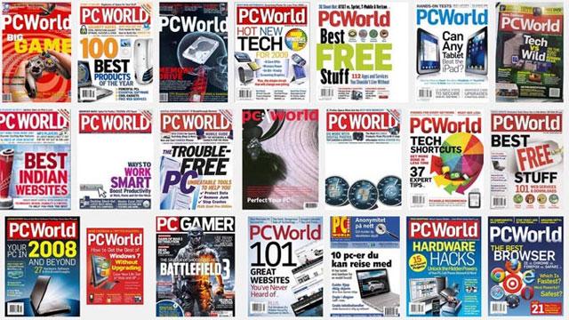 Internet giết chết tạp chí