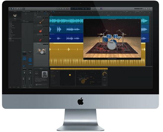 Apple ra mắt phần mềm biên tập nhạc chuyên nghiệp mới