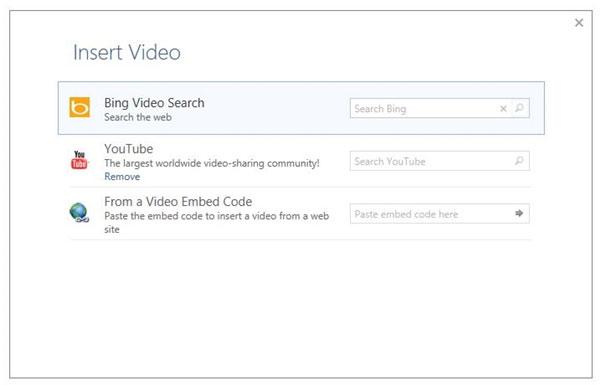 Hướng dẫn chèn video Youtube vào Word 2013