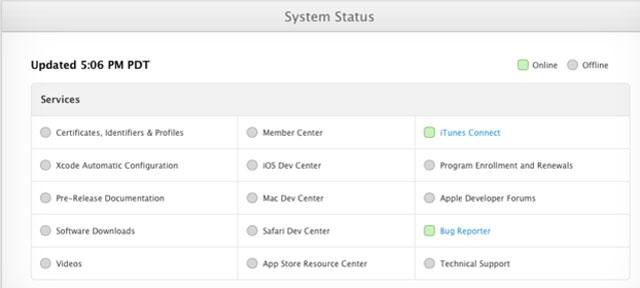 Apple giới thiệu trang cập nhật tiến trình khắc phục lỗi do bị tấn công