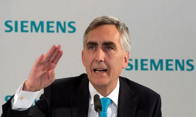 Tổng Giám đốc Siemens bị sa thải vì lợi nhuận thấp