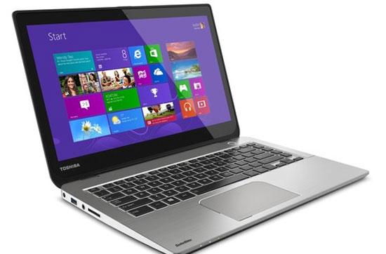 Ultrabook Toshiba hỗ trợ cảm ứng, điều khiển bằng giọng nói