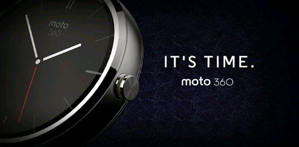 Motorola Moto 360 sẽ được tích hợp cảm biến ánh sáng