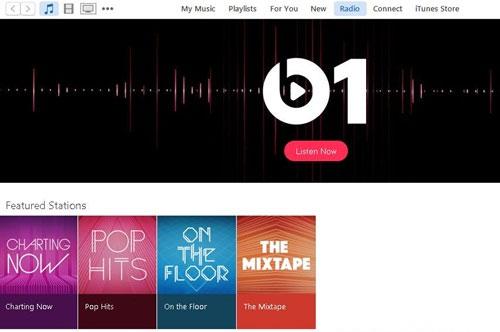 Giao diện Apple Music trên Windows