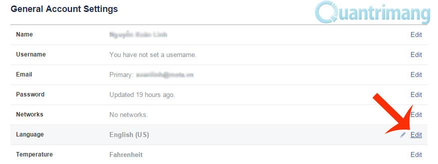 Hướng dẫn đổi tên Facebook chỉ duy nhất 1 chữ