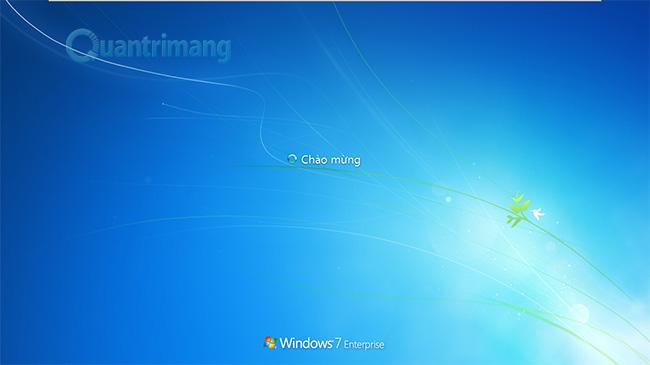 Màn hình Welcome của Windows đã thay đổi