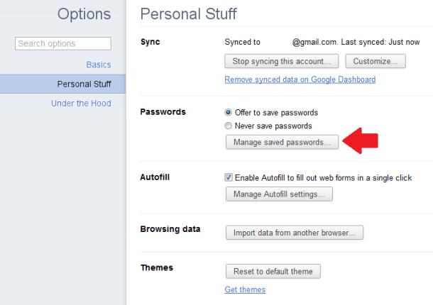 Cách xem và xóa mật khẩu đã lưu trên Chrome