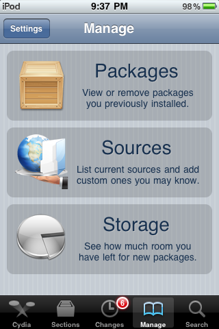 Cydia user guide for iPhone owners