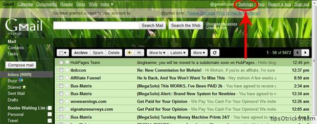 Cho phép tài khoản khác xem Gmail của bạn không cần mật khẩu
