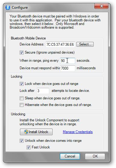 Khóa và mở khóa máy tính bằng 'ma thuật xanh'