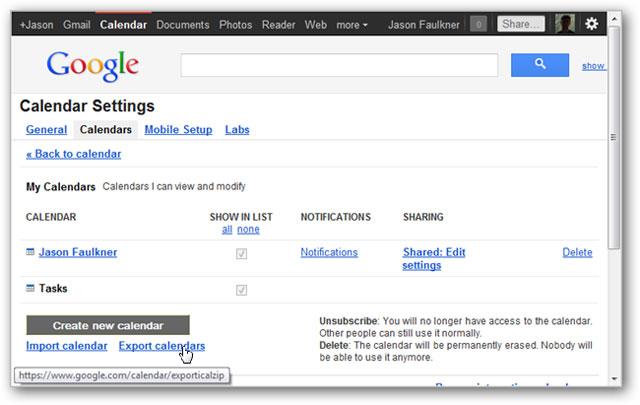 Sao lưu dữ liệu các ứng dụng của Google