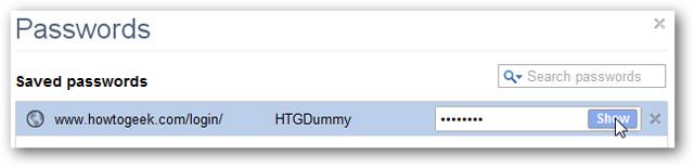 Bảo mật Passwords đã lưu trên Google Chrome