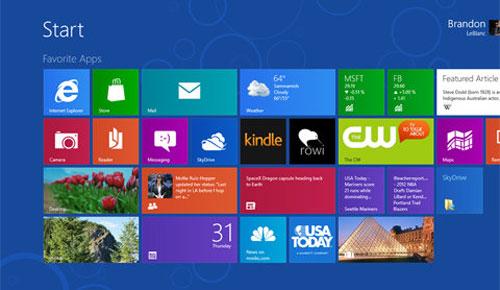 Windows 8 RTM được chia sẻ tràn lan trên mạng