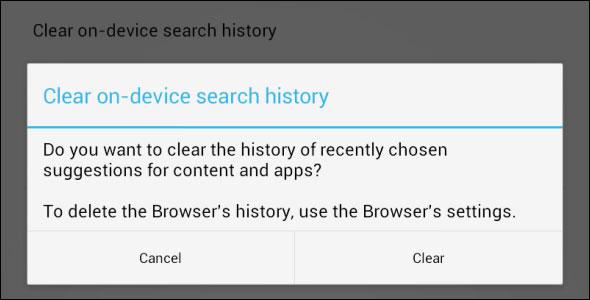 Hình ảnh Xóa lược sử duyệt Web trên thiết bị Android số 12