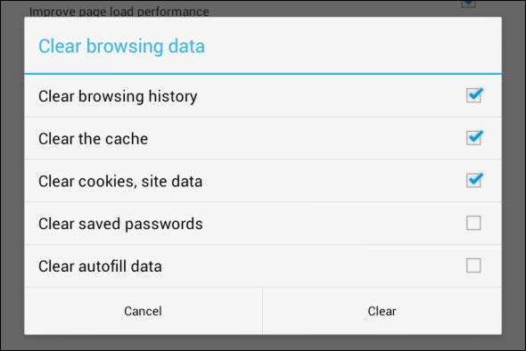 Hình ảnh Xóa lược sử duyệt Web trên thiết bị Android số 4