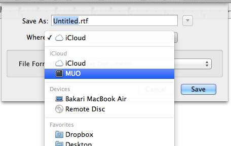 Lưu và chia sẻ tài liệu qua iCloud