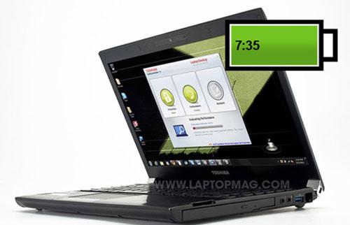 """Top máy tính xách tay pin """"khủng"""" nhất trên thị trường"""