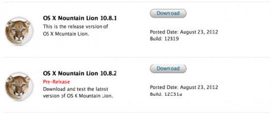 Apple ra Mac OS 10.8.2 cho lập trình viên hỗ trợ Facebook, iMessages