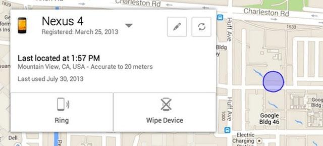Google sắp ra mắt dịch vụ giúp người dùng tìm lại điện thoại bị đánh cắp