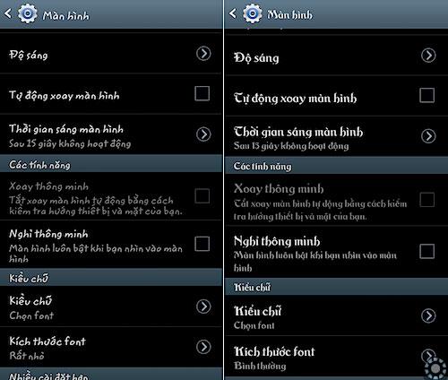 Tải font tiếng Việt cho Android không cần root