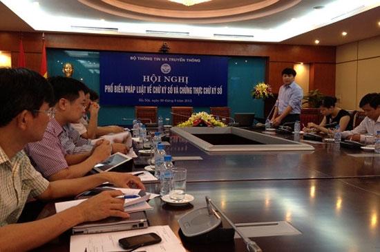 Dùng chữ ký số VeriSign, Global Sign tại Việt Nam là phạm luật