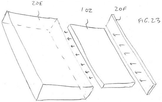 Apple đăng kí bằng sáng chế vỏ máy bằng kính