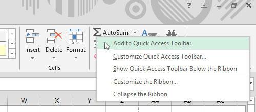 Tạo phím tắt hữu dụng cho Office 2013