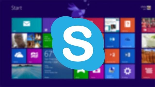 Skype sẽ được cài sẵn trên Windows 8.1