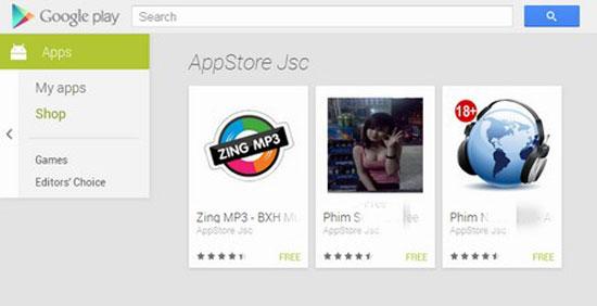 Hàng loạt ứng dụng Android độc hại có xuất xứ Việt Nam