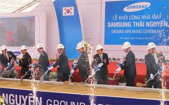 Samsung đầu tư 1,2 tỷ USD xây nhà máy thứ 3 tại Việt Nam