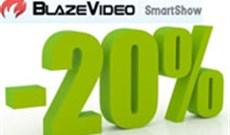 BlazeVideo SmartShow giảm giá 20%