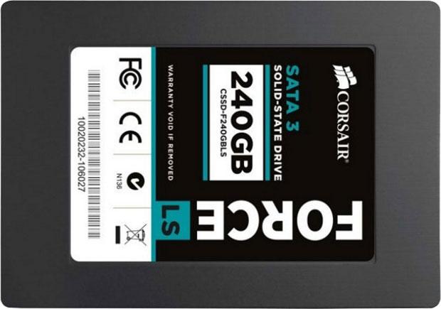 Corsair ra mắt dòng SSD giá rẻ Force LS Series
