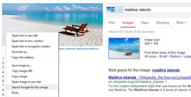 Phiên bản Chrome mới nhất giúp tìm kiếm ảnh siêu nhanh