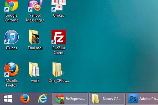 Không chờ nổi Windows 8.1, Lenovo tự làm nút Start