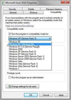 Chạy chương trình cũ trên máy tính mới
