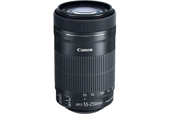 Canon thêm phiên bản STM cho ống kính 55-250 mm