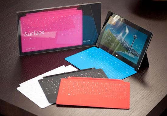 Microsoft giảm giá bàn phím cảm ứng cho Surface