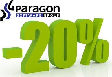 Paragon giảm giá phần mềm bảo vệ dữ liệu máy tính