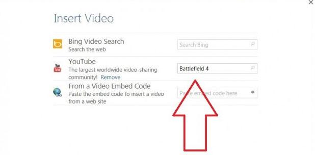Cách chèn video online vào Word 2013