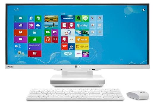 LG ra mắt máy tính màn hình siêu rộng