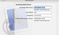 Truy cập Exchange 2007 từ máy tính Apple Macintosh (Phần 1)