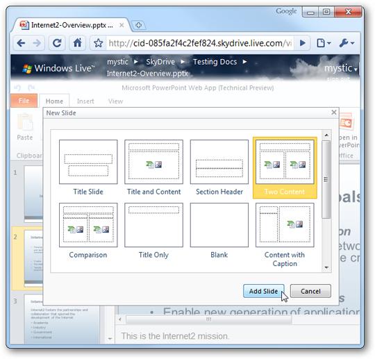Khám phá Web Office của Microsoft