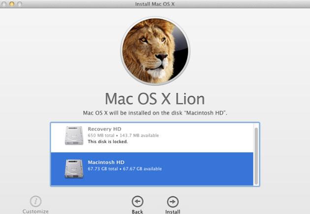 Cứ 6 người dùng Mac thì có 1 người chạy OS X Lion