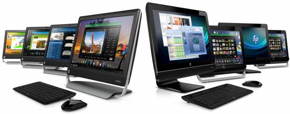 HP công bố 7 máy tính tất cả-trong-một