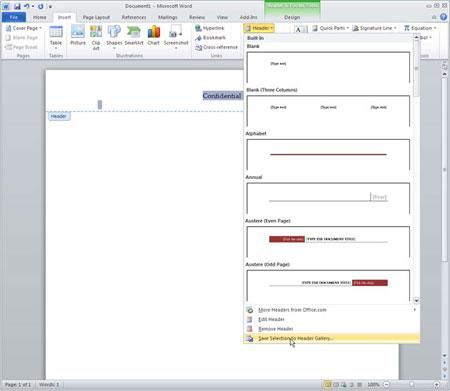 10 kỹ thuật cao cấp sử dụng MS Word